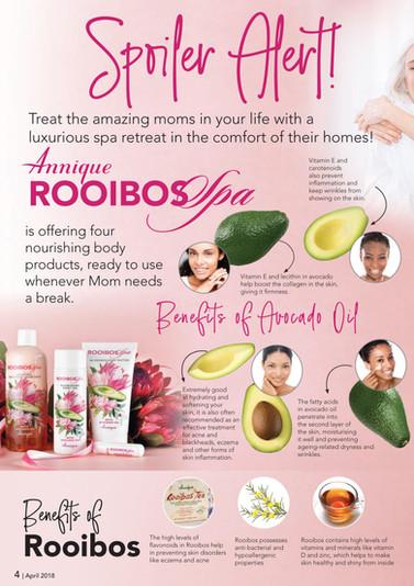 #Annique #Rooibos #RooibosStore #AnniqueSkincare #RooibosSpa