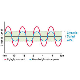 NeolifeShake Glycemic response control technology