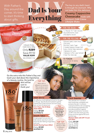 #Annique #Rooibos #RooibosStore #AnniqueSkincare #Fathersday #ProductsforDad #AnniqueMan #AnniqueMen