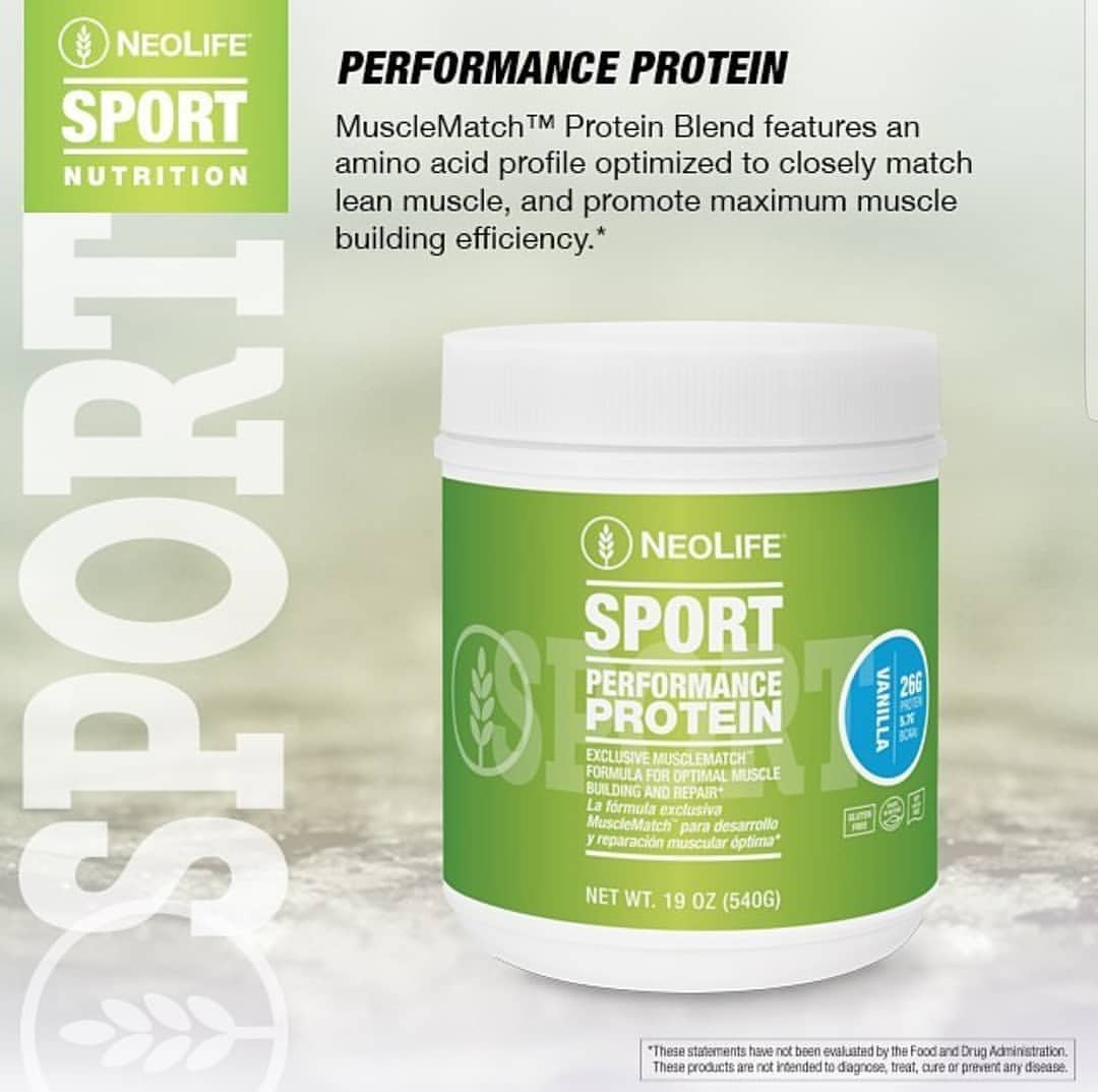 Neolife Sport Performance Protein Shake