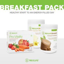 Neolife Breakfast pack
