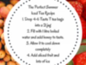 Annique Iced Tea Recipe