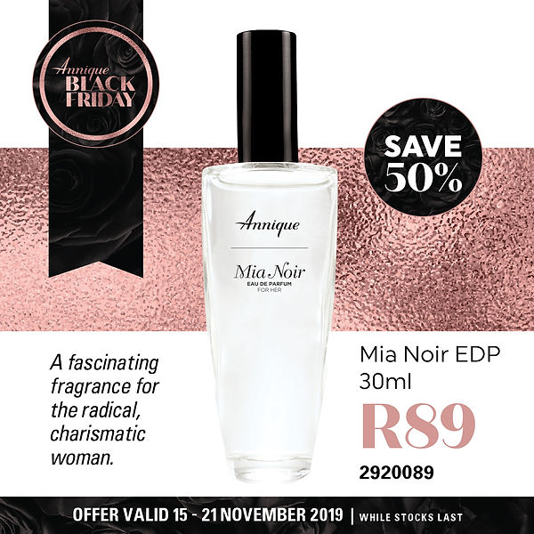 BlackFriday Annique Mia Noir EDP 30ml ww