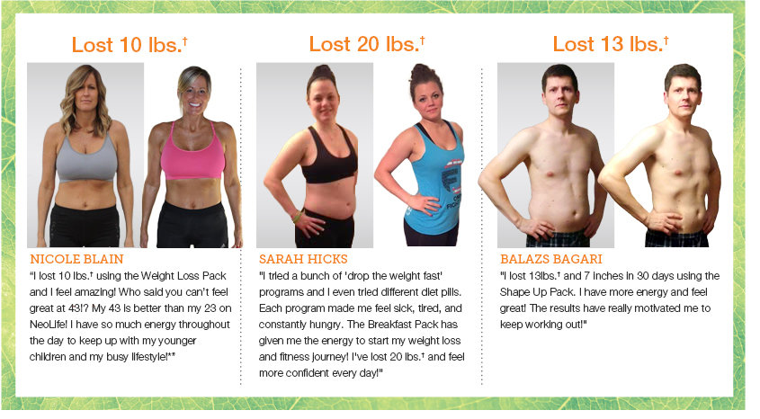 Neolife Weight Loss Testimonials