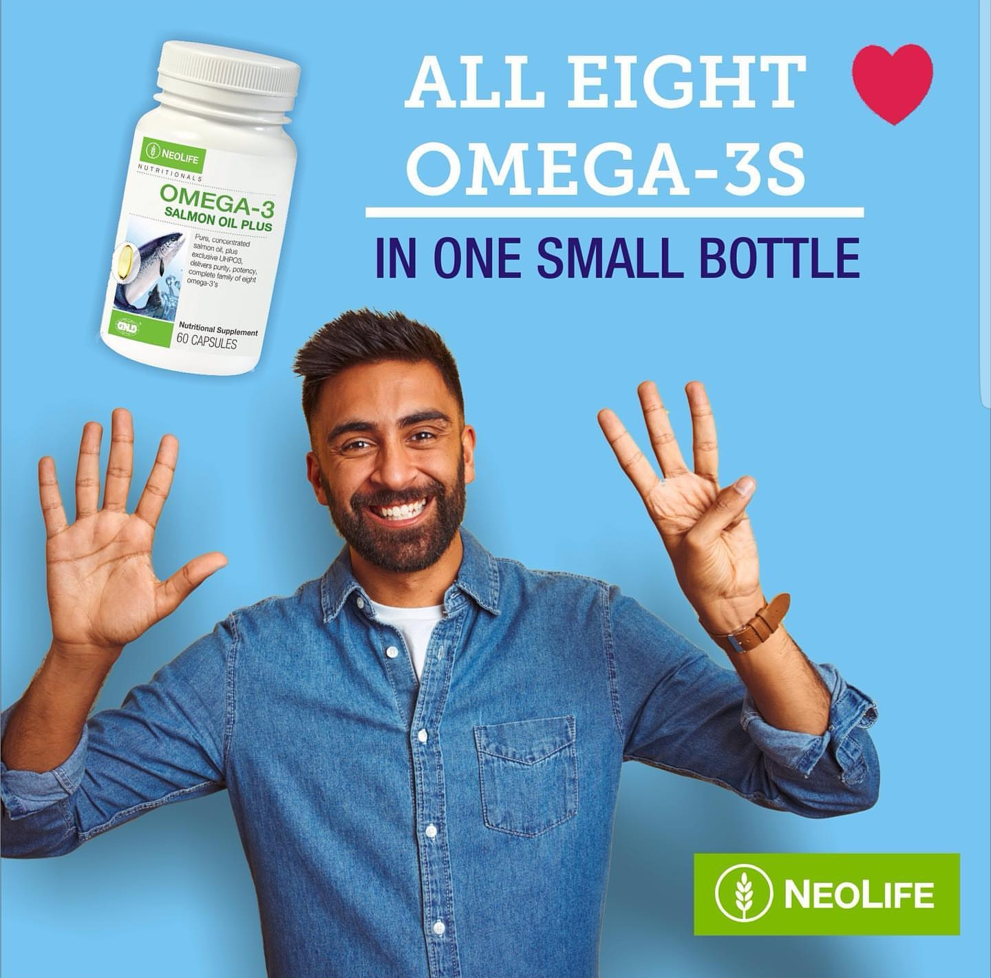 Neolife Omega 3 Salmon Oil