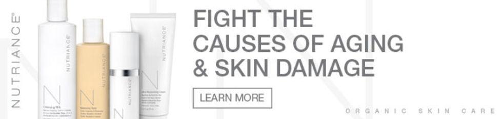 Nutriance Organic Skin Care www.onlinehealthstore.co.za