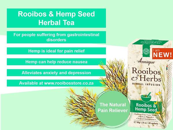 Annique Rooibos and Hemp Seed Herbal Tea