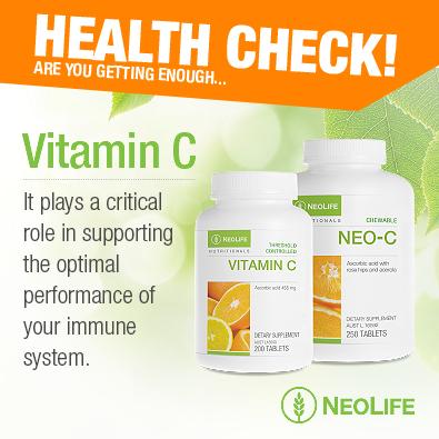 Neolife vitamin c