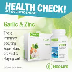 Neolife Chelated Zinc & Garlic