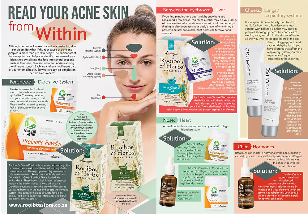 Annique Rooibos - Read your Acne Skin fr