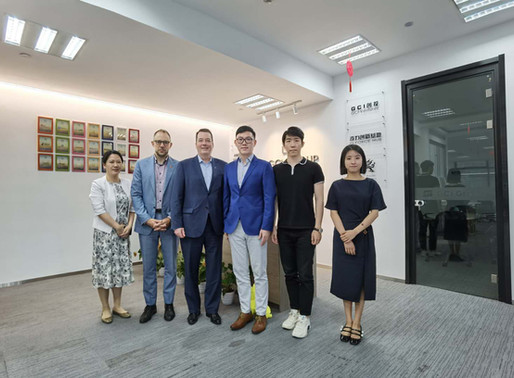 Welcome Consul General of Canada in Shanghai to our Hangzhou Office
