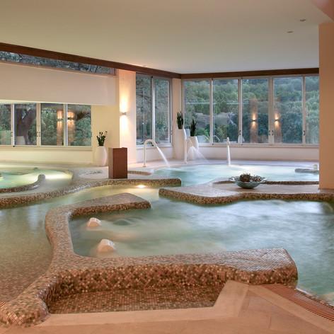 Indoor Pools at the Spa.JPG