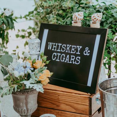 עמדת סיגרים לחתונה
