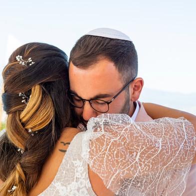 חתונה יהודית בחול