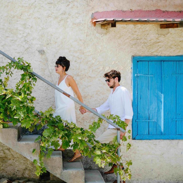 צילומי זוגיות ביוון