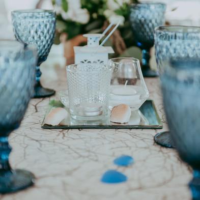 גביע יין אלגנטי חתונה בחו״ל