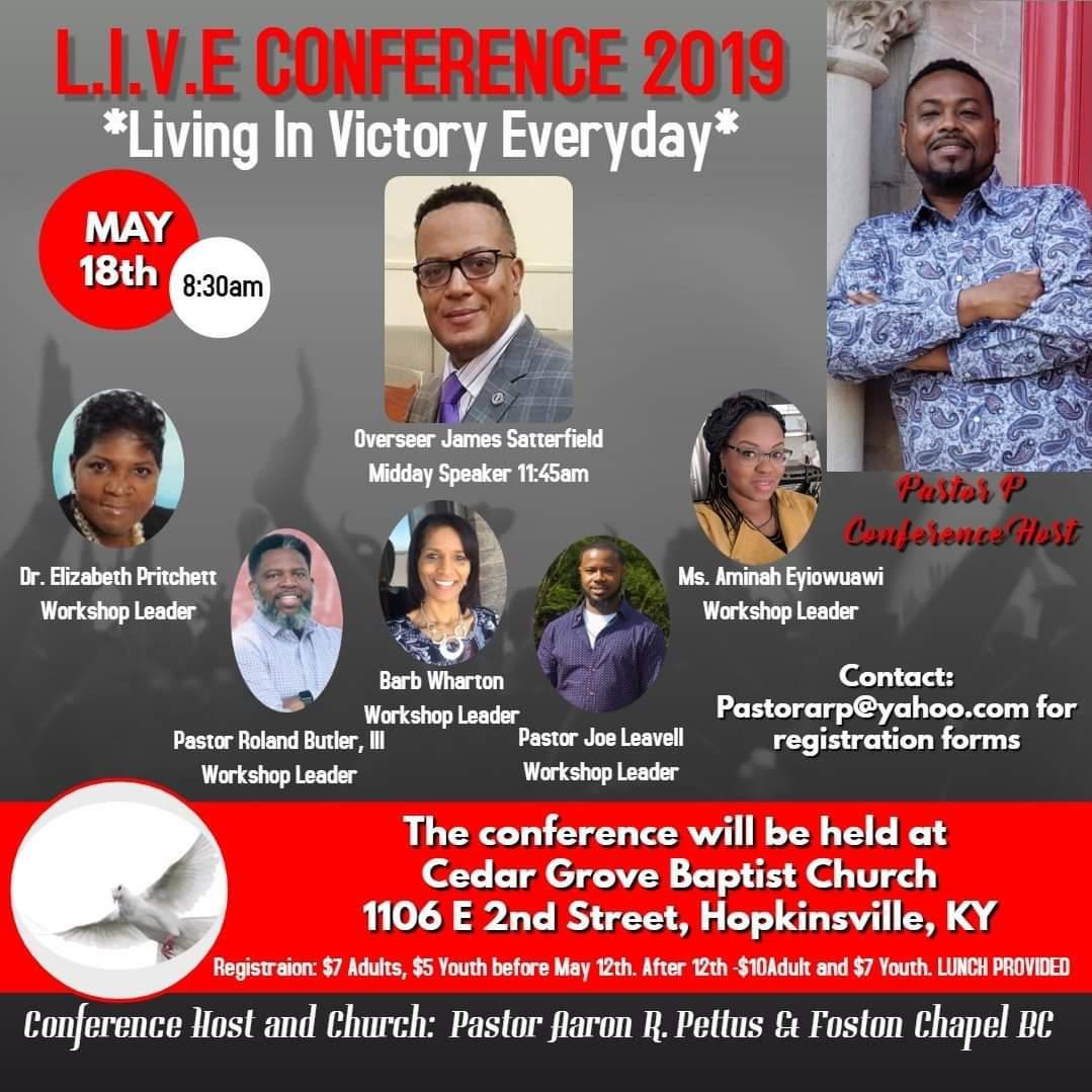 L.I.V.E Conference 2019