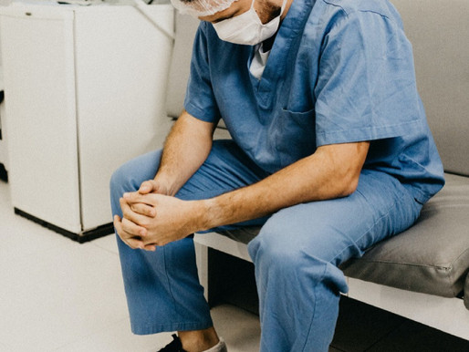 Stress & Medicine: My Salute To Health Care Workers.