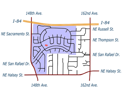 Map of Summerplace Location