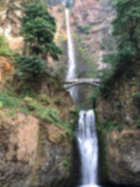 Beautiful Multnomah Falls