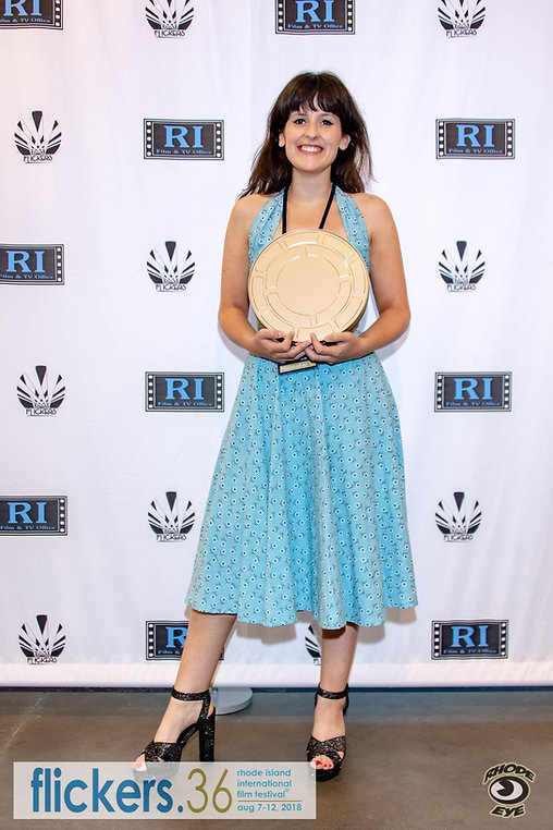 Carys Watford at Flickers' Rhode Island International Film Festival