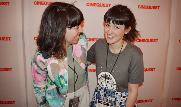 Carys Watford and Kelly Tatham at Cinequest Film & VR Festival