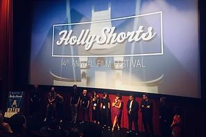 Carys Watford at HollyShorts Film Fesival