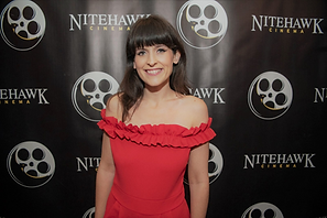 Carys Watford at Nitehawk Shorts Film Festival