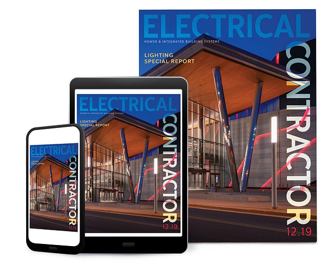 Electrical Contractor Digital Magazine Design
