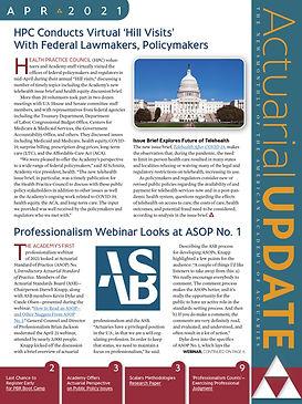 Newsletter Design Actuarial Update