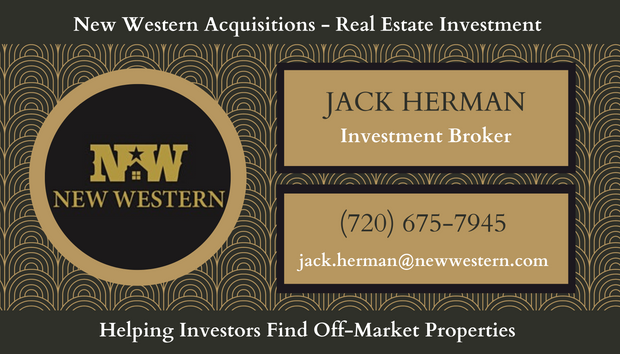Gold and Black Elegant Real Estate Busin