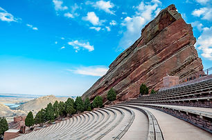 Historic Red Rocks Amphitheater near Den