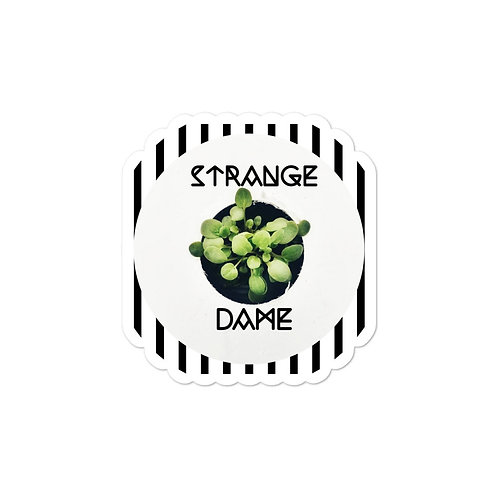 Strange Dame Logo Sticker