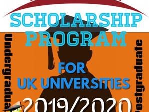 UK Scholarships for Undergraduate and Postgraduate