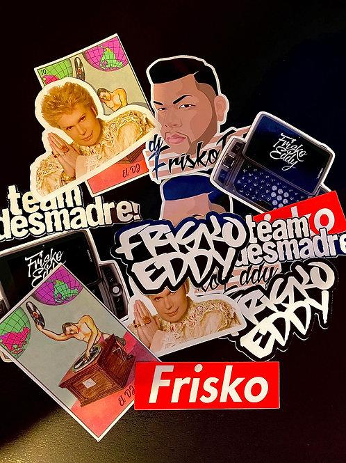 Frisko Eddy Sticker Pack