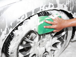 DIY vehicle detailed cleaning and polishing