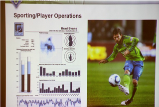 Seattle Sounders incorporate wearable devices in their quest for the MLS Cup.