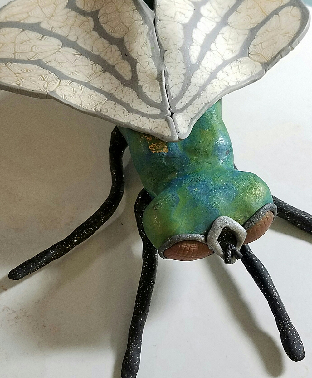 green fly with wings