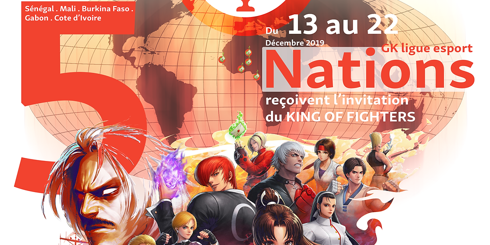 King of Fighters SERIES Esport GKligue Libreville Saison 1 2019