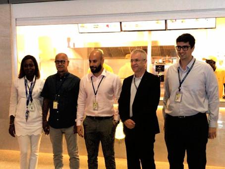 Planet KEBAB ouvre son fast-food à l'Aéroport International de Blaise Diagne. Beau jeu !