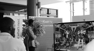 Stand Just Dance avec SAMSUNG au Shopping Mall Sea Plaza