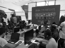 Première activation de démonstration esport au Sénégal pendant le festival faby en partenariat avec Coca-cola.