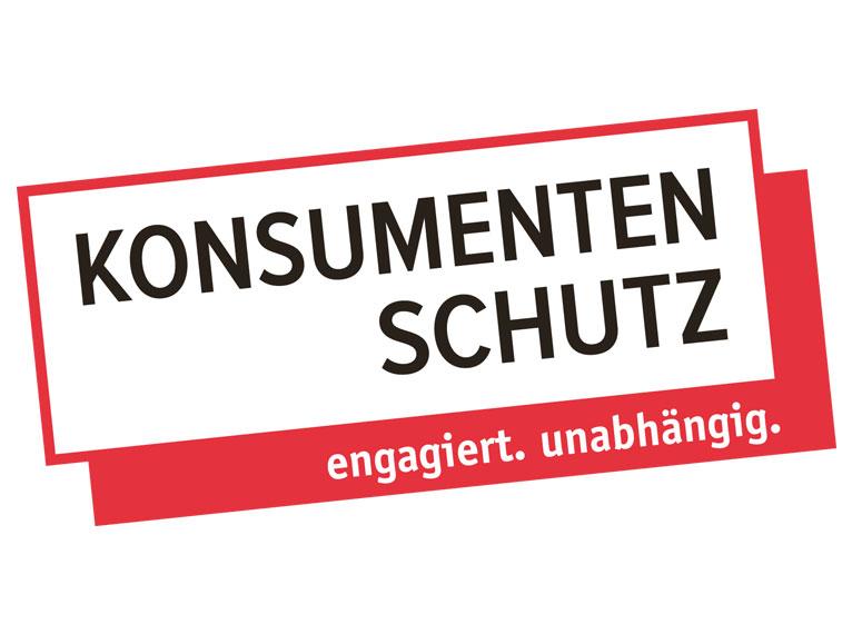 Konsumentenschutz Corporate Identity Arbeit: Konzept, Realisation, Logo