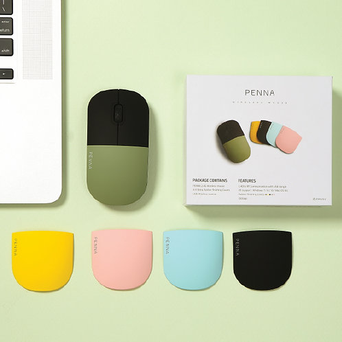 PENNA Mouse(1Mouse+4Cover)