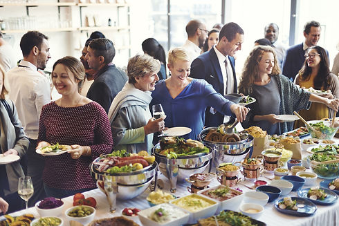 Diversity People Party Enjoyment Buffet Eating Concept.jpg