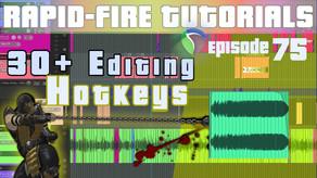 Advanced Audio Editing in REAPER: 30+ Hotkeys for Editing (Rapid-fire Reaper Tutorials Ep75)