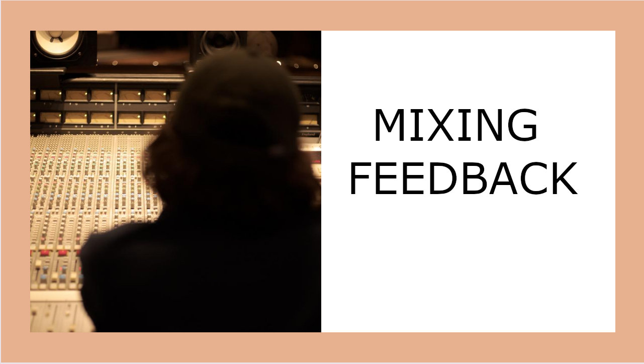 Private Mixing Feedback