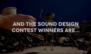 And the winner of the SOE Sound Design contest is....Me!