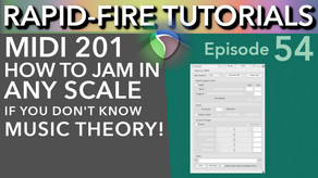 How to Jam in any key without knowing Music Theory (Rapid-fire Reaper Tutorials Ep54)