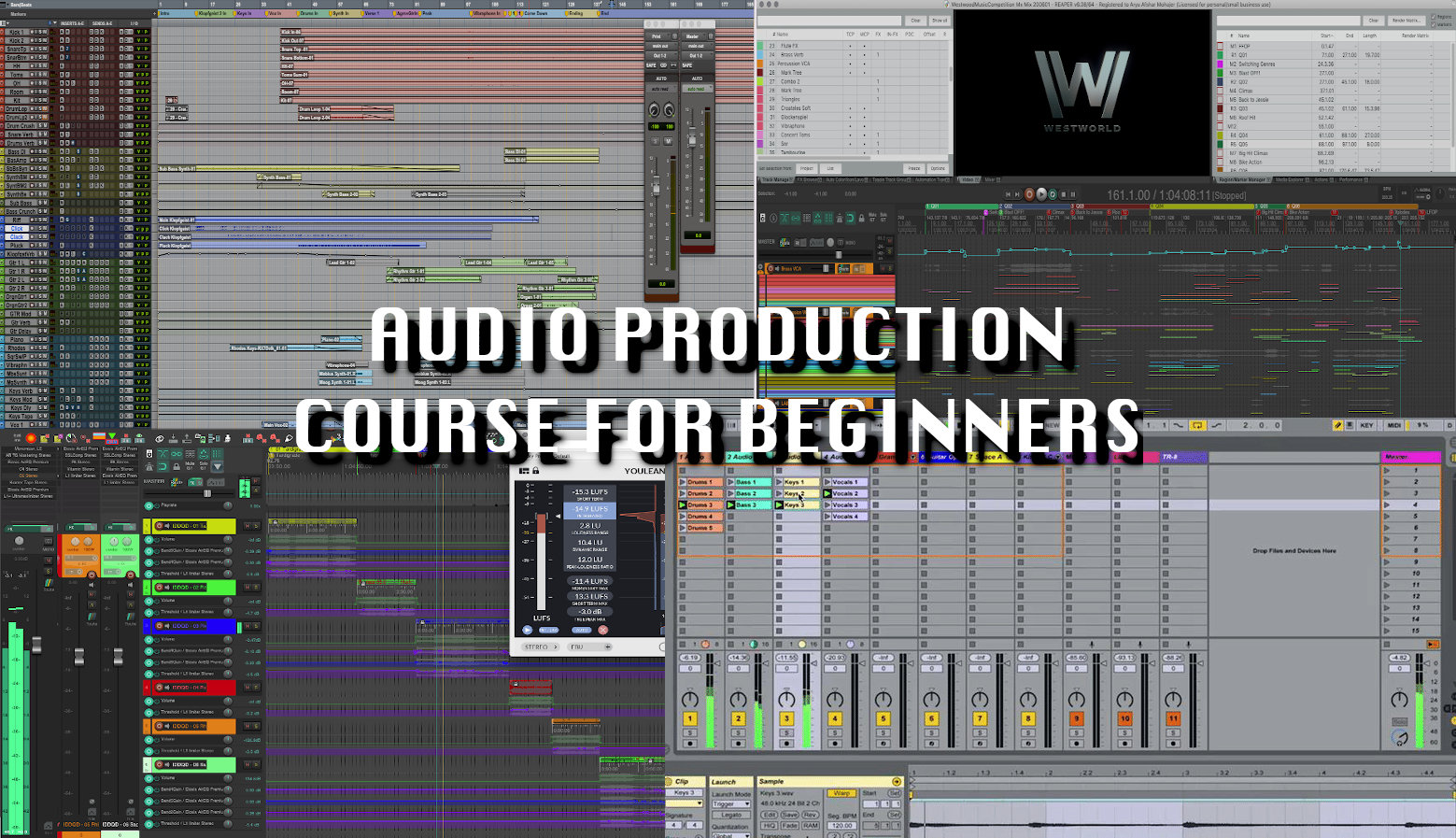 11-Week Course in Audio Production